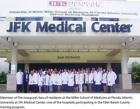 In Fulfillment Of A Three Year Planning And Approval Process The Inaugural Group Officially Began Training At Jfk Medical Center And The West Palm Beach Va