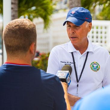 Surfside mayor navigates challenges, tragedy
