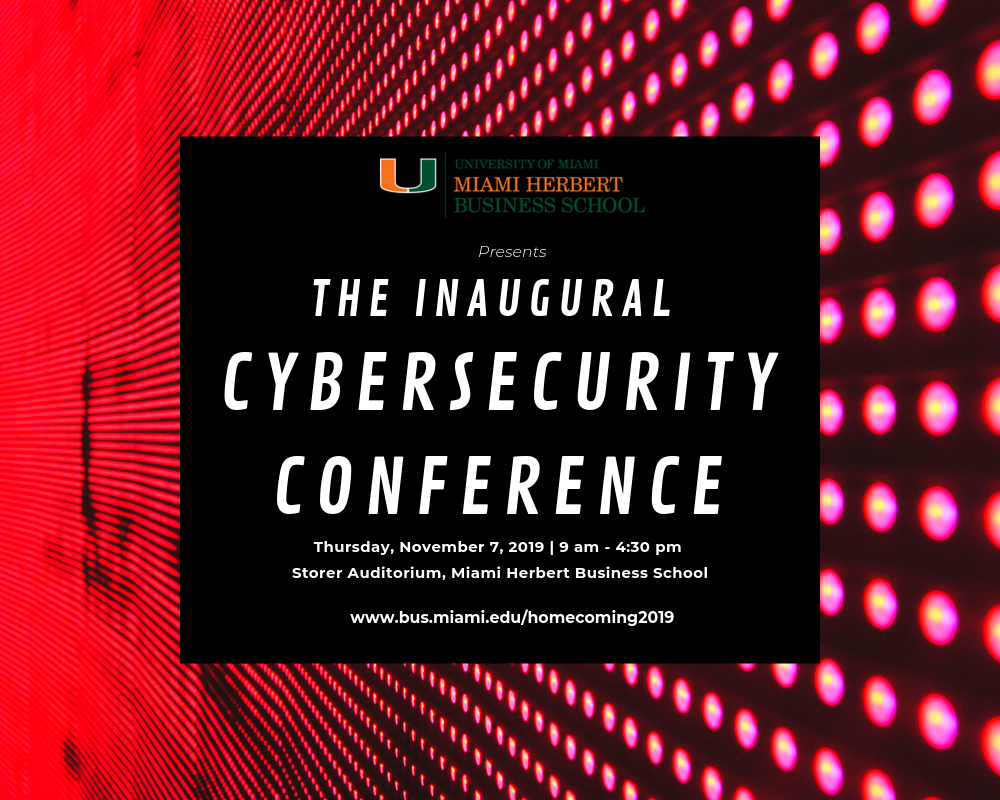 Cybersecurity Conference Flyer