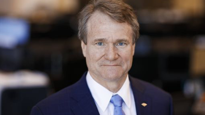 Brian Moynihan, Chairman of the Board and CEO, Bank of America