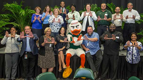 Business and Finance Honors Long-Serve Employees